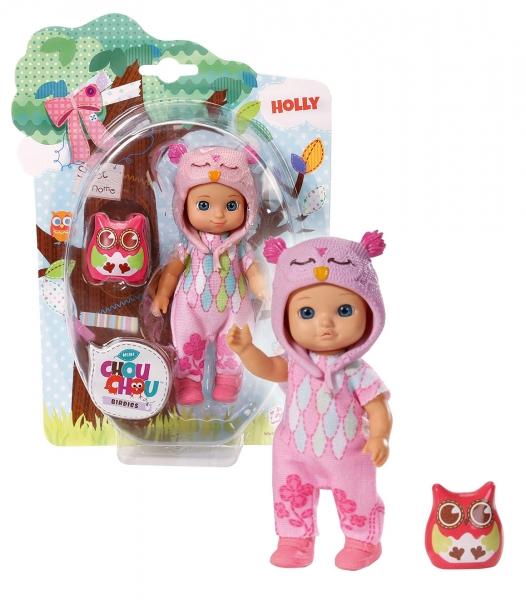 CHOU CHOU panenka mini Sovičky - HOLLY - CHOU CHOU panenka mini Sovičky - HOLLY - 1ks