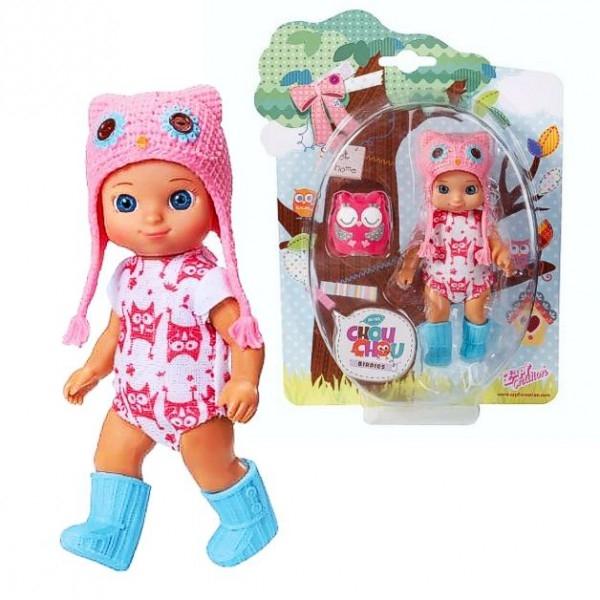CHOU CHOU panenka mini Sovičky - AMY - CHOU CHOU panenka mini Sovičky - AMY - 1ks