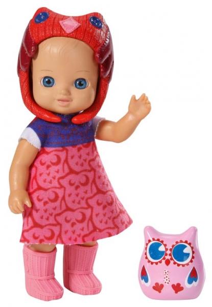 CHOU CHOU panenka mini Sovičky, 6 druhů - CHOU CHOU panenka mini Sovičky, 6 druhů - 1ks/mix