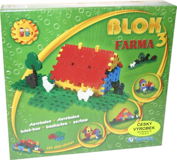 Stavebnice BLOK 3 - FARMA