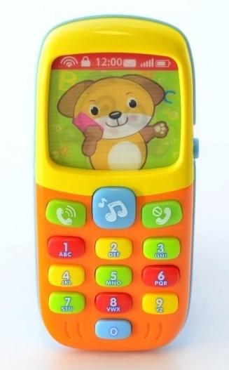 Interaktivní hračka s melodii - Mobil Smart (Interaktivní hračka s melodii, 6m+)