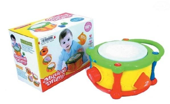 Euro Baby Interaktivní hračka s melodii - Bubínek