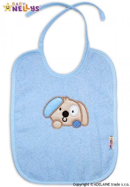 Bryndáček Baby Nellys® PEJSEK - sv. modrý
