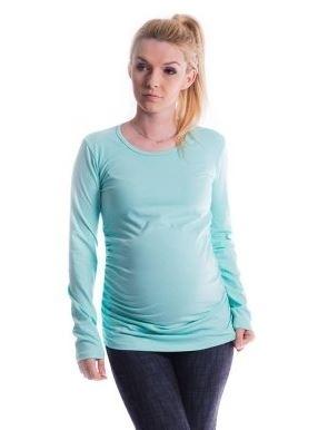 Be MaaMaa Těhotenské triko ELLIS - máta