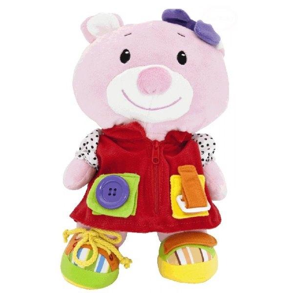 Edukační hračka - MEDVÍDEK ANIČKA (MEDVÍDEK ANIČKA (EBZTE9823-25))
