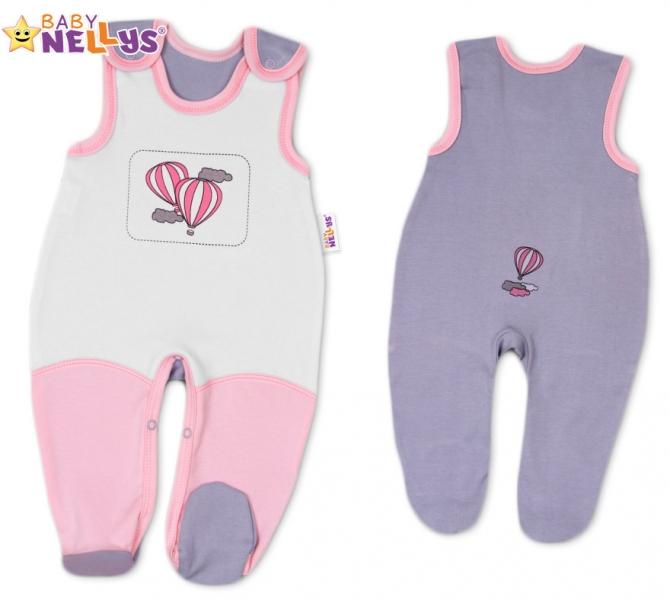 Dupačky Baby Nellys ® Balónek v růžové