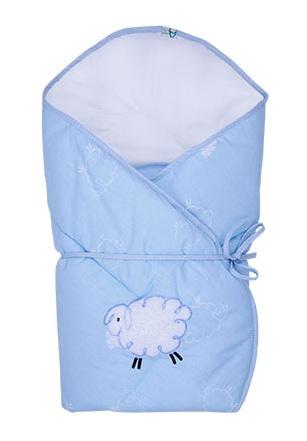 Zavinovačka Ovečka Fluffy - modrá