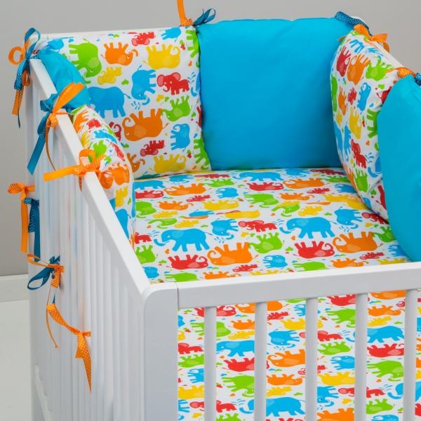 Mantinel Baby Nellys ® - polštářkový s povlečením vzor č. 341106