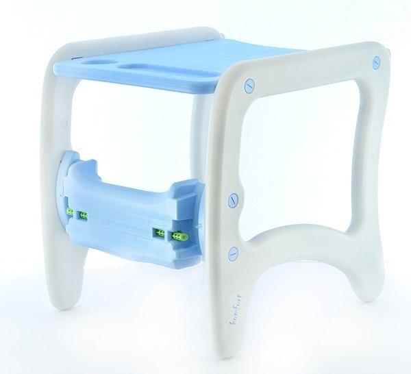 Euro Baby Jídelní stoleček 2v1 - modrý oceán
