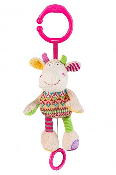 Závěsná hračka s hudbou Baby Ono - Kravička