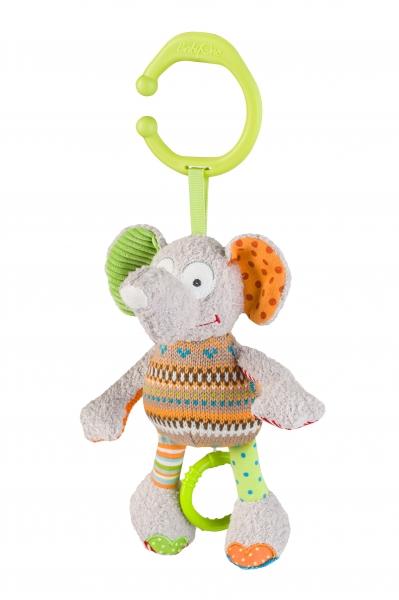 Závěsná hračka s hudbou Baby Ono - Slon, slůně