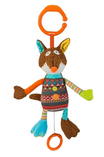 Závěsná hračka s hudbou Baby Ono - Liška