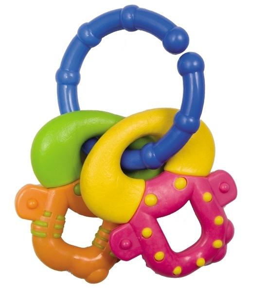 Kousátko Canpol Babies - Barevné klíče