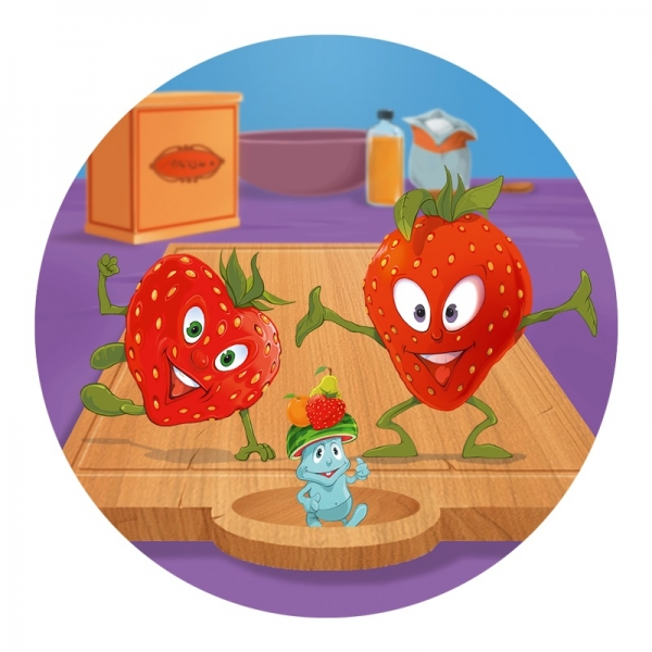 Rappa Hra Ovocný salát