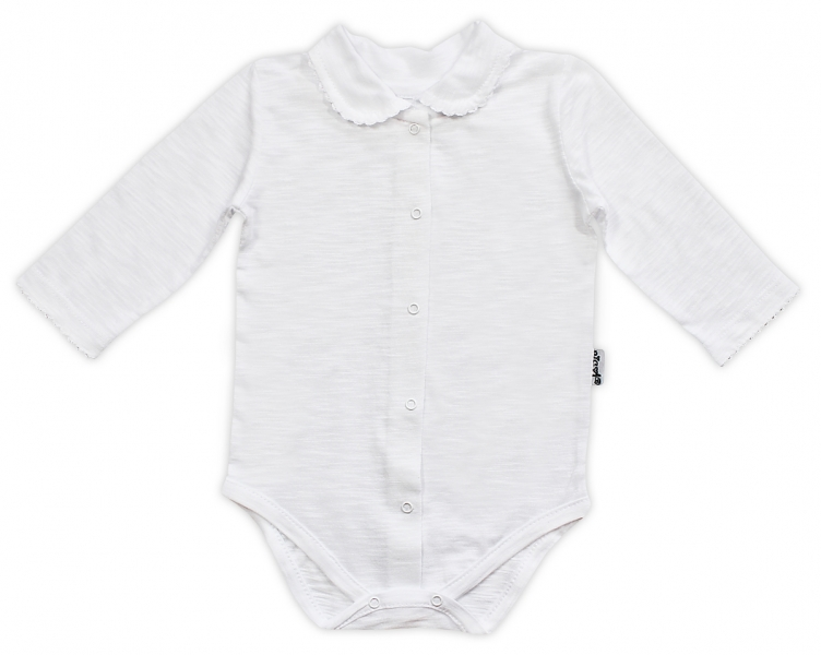 Body dl.rukáv zap. uprostřed NICOL ELEGANT BABY GIRL, Velikost: 56 (1-2m)
