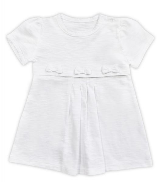 Šatičky NICOL ELEGANT BABY GIRL, bílé, , vel. 104