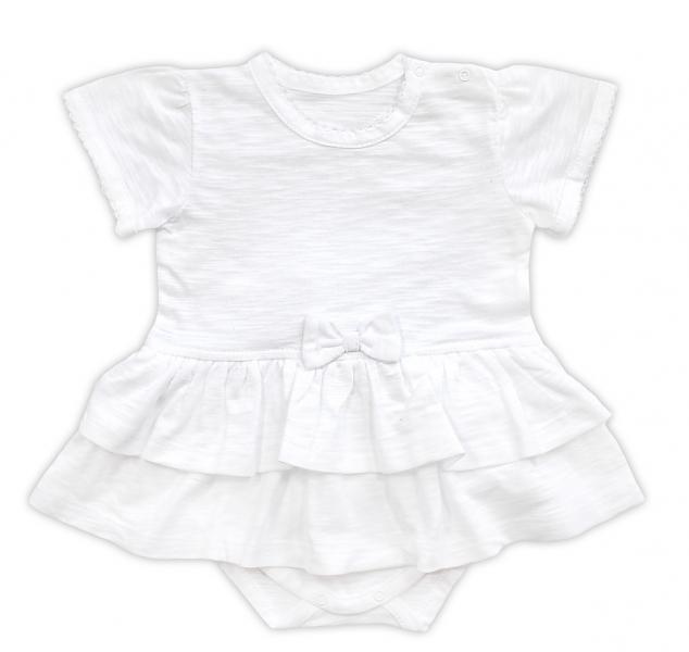 Sukničko- body krátký rukáv NICOL ELEGANT BABY GIRL