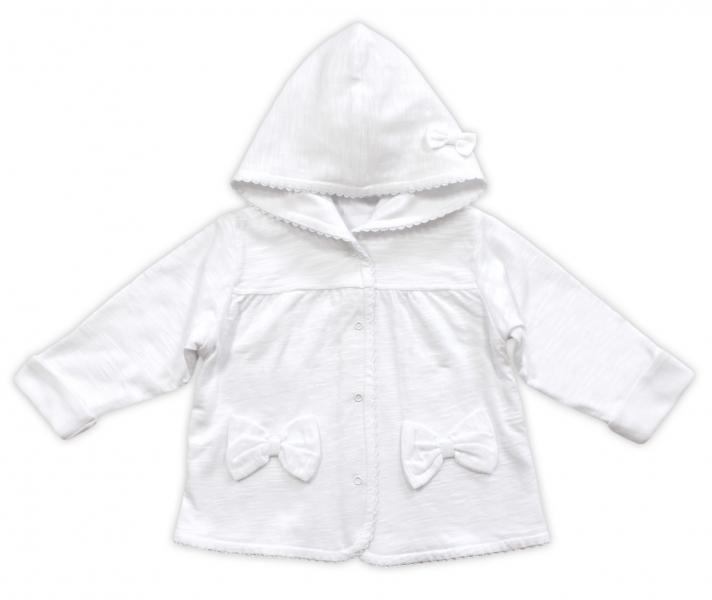Bundička/kabátek NICOL ELEGANT BABY GIRL, vel. 98, bílá, Velikost: 98 (24-36m)