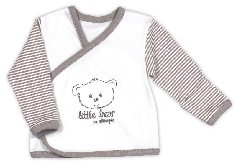 Novorozenecká košilka NICOL Malý medvídek (Vel.68, K 6702, Kolekce:LITTLE BEAR - JL 2016 str. 52