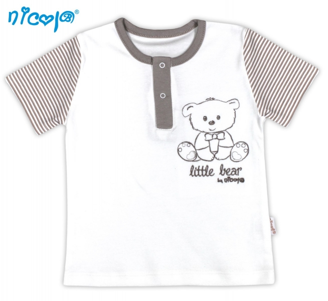 Tričko kr.rukáv NICOL Malý medvídek