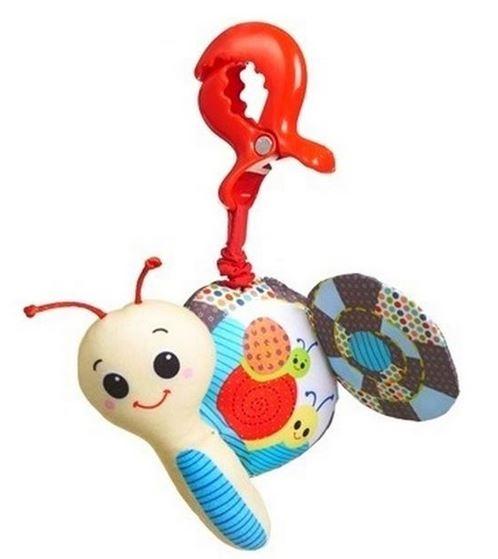 Závěsná hračka s vibrací a klipem TINY LOVE Šnek