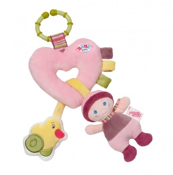 BABY BORN for babies srdíčko s aktivitami pro miminka