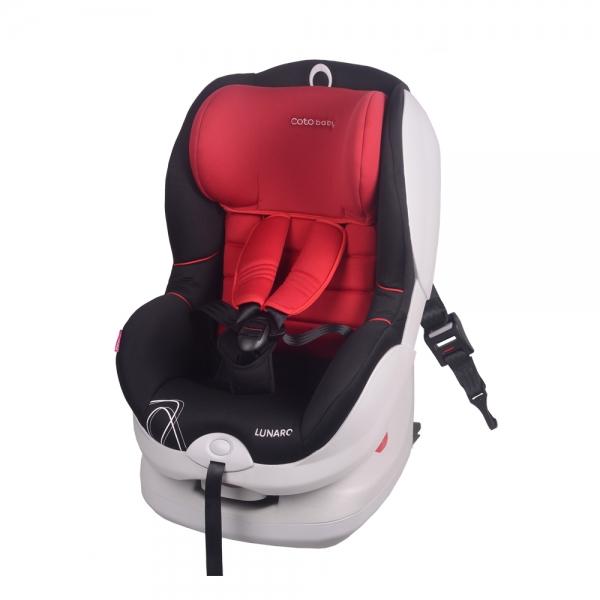 Autosedačka LUNARO 2016 Isofix - 9-18 kg - Červená