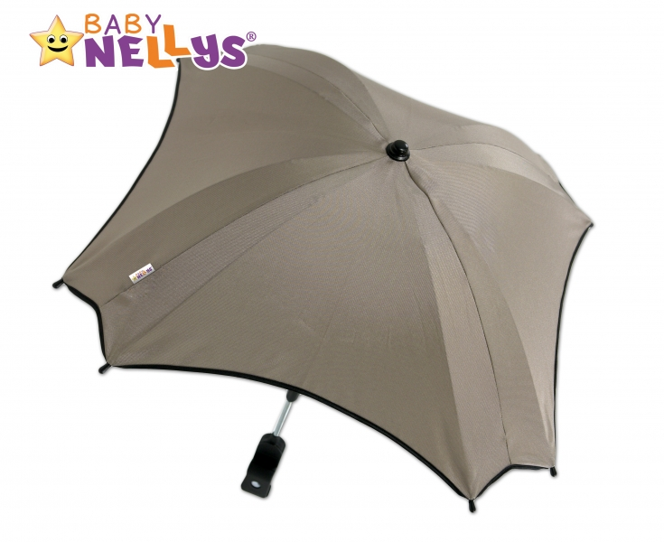 Slunečník, deštník do kočárku Baby Nellys ® - béžový (barva: béžová)