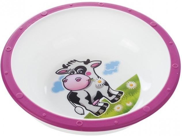 Miska Canpol Babies - Kravička růžová