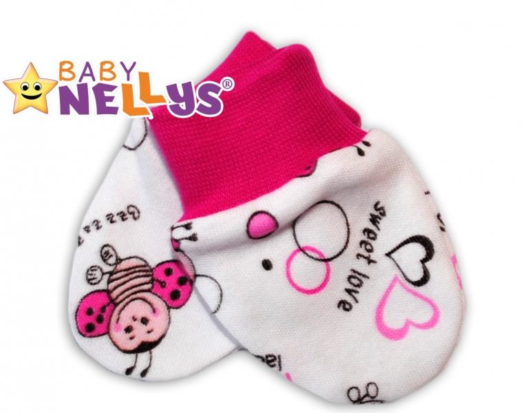 Kojenecké rukavičky Baby Nellys ® - Beruška
