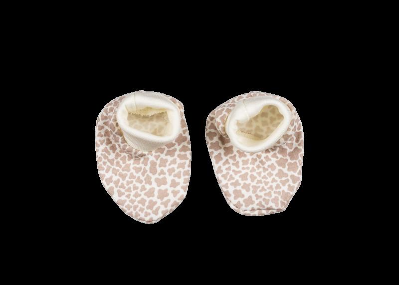 Botičky/ponožtičky BAVLNA Mamatti - Žirafka