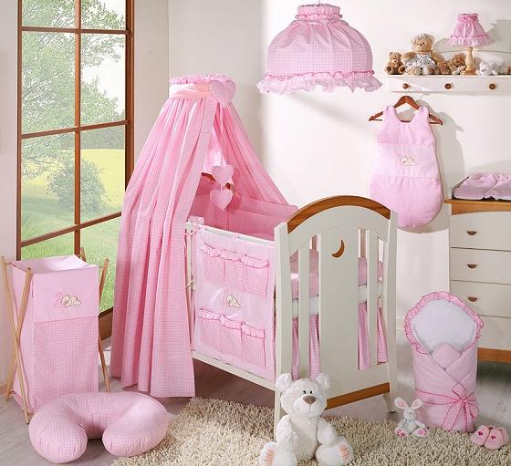 Luxusní mega set s výšivkou CL - Snílek růžový