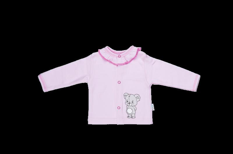 Bavlněná košilka Mamatti - Medvídek