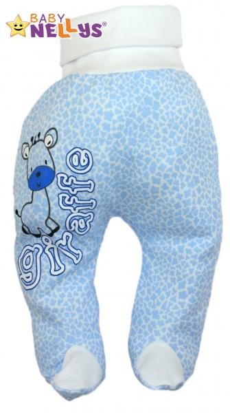 Polodupačky Baby Nellys ® Giraffe - modré