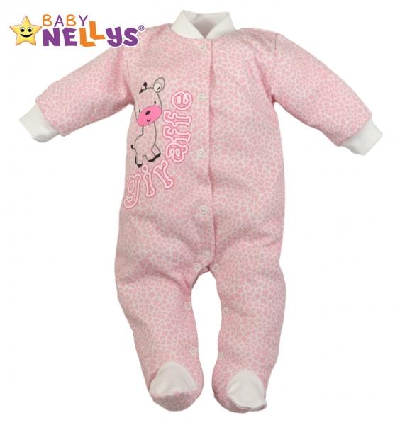 Overálek Giraffe Baby Nellys ® - růžový