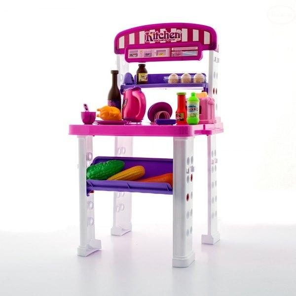 Euro Baby Dětská kuchyňka Super Delicious - růžová