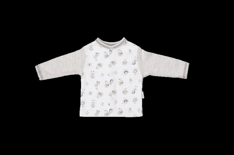 Bavlněná košilka Mamatti - Farma, Velikost: 80 (9-12m)