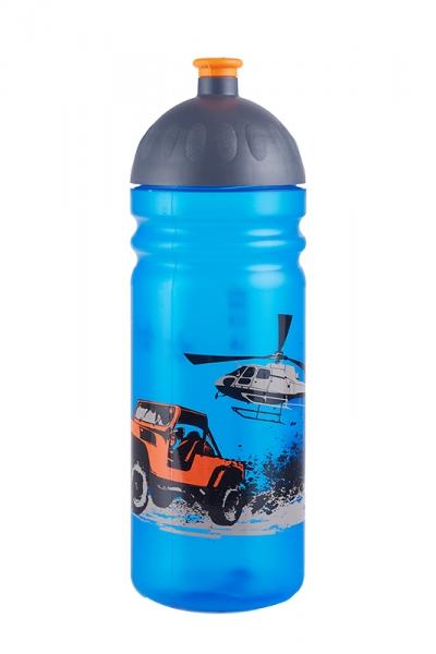 R&B Mědílek s.r.o. Zdravá láhev - 0.7l - Jeep, modrá