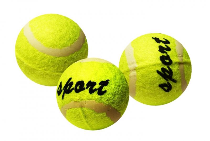Míček tenisový v sáčku 3 ks