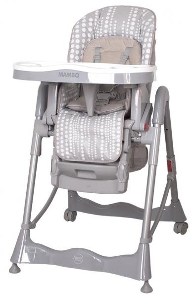 Jídelní židlička COTO BABY Mambo Grey (Židlička Mambo - barva šedá)