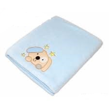 Dečka Colar Baby Nellys® PEJSEK - modrá