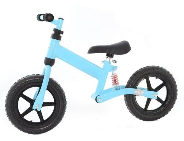 Dětské odrážedlo-kolo - modré