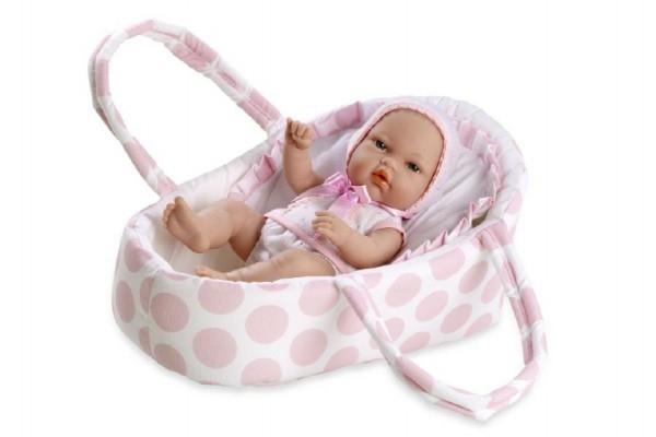 Panenka/miminko Arias pevné tělo 33cm v tašce v sáčku