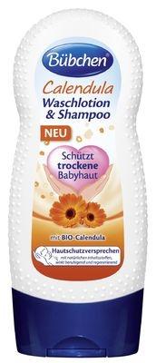 Měsíčkový mycí gel a šampón - Bübchen