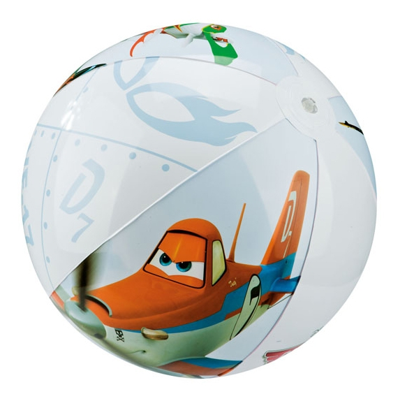 Nafukovací míč PLANES - Letadla, 61 cm
