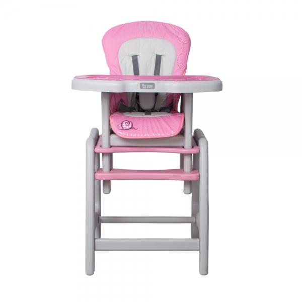 Jídelní stoleček Coto Baby STARS Šnek - růžový (barva: pink 10, CC006-10)