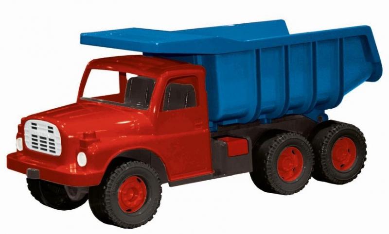 Auto Tatra 148 modro-červená plastová