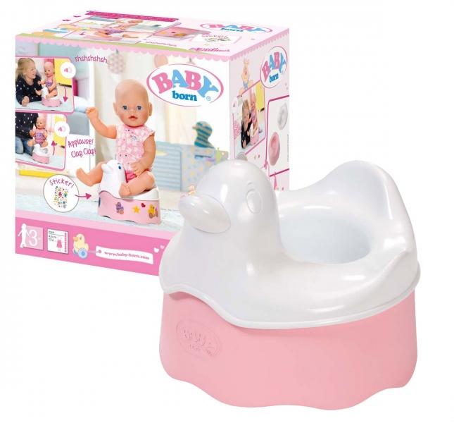 BABY born nočník pro panenku se zvuky