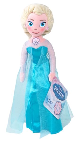 Mluvící plyšová hračka FROZEN - Ledové království Anna/Elsa/Olaf (1 ks, mix druhů dodání dle externího skladu)