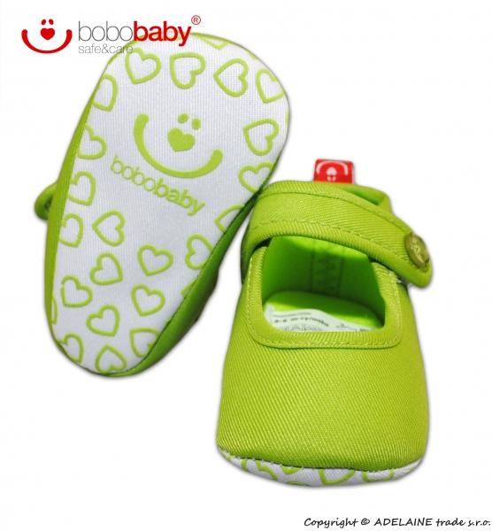 Balerínky capačky/botičky BOBO BABY - zelené